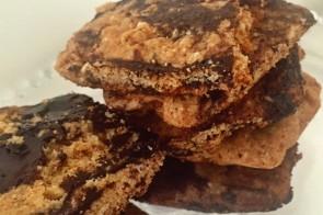 Minha foto não ficou das melhores, mas garanto 100% que os cookies ficaram maravilhosos!